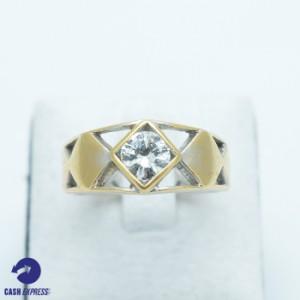 แหวนทองคำประดับเพชร